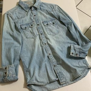 XS Men's Guess denim shirt